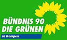 Logo Bündnis 90 - Die Grünen OV Kempen